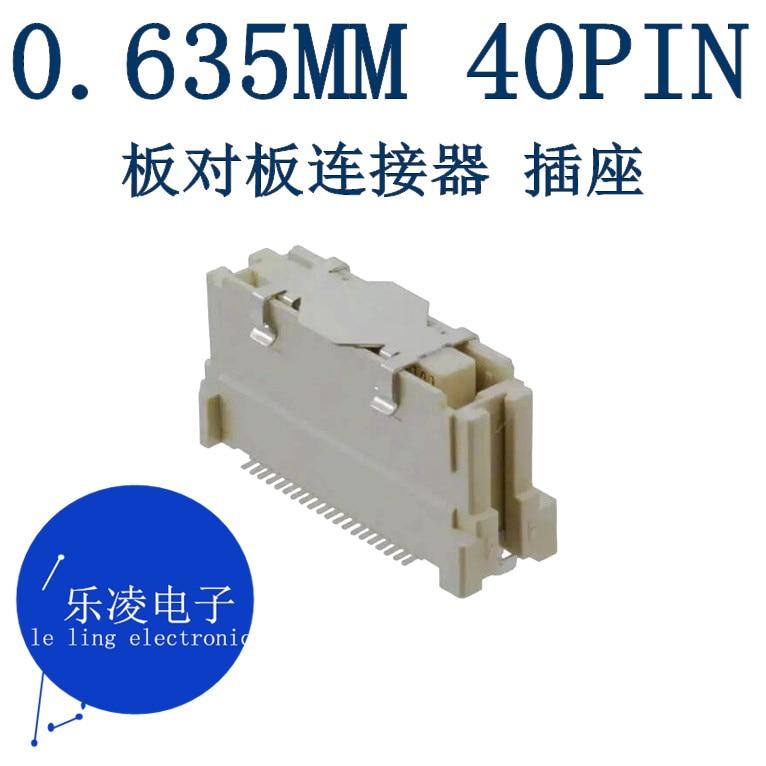 شحن مجاني 0.635 مللي متر 40PIN 40P 52901-0474 0529010474 10 قطعة
