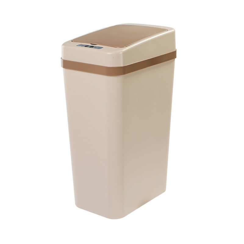 Smart Trash Can Luminous sterilization multi-mode induction Kitchen Bathroom Automatic Induction Dustbin Garbage Can For Bedroom enlarge