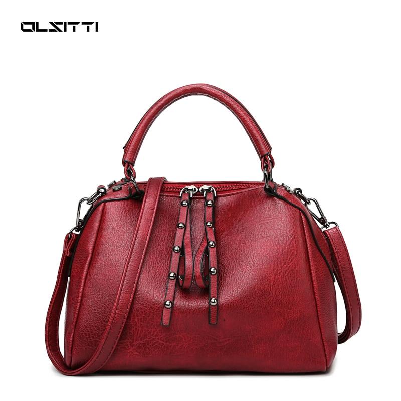 OLSITTI Luxury Purses and Handbags Soft Pu Leather Shoulder Crossbody Bags for Women 2021 Designer C