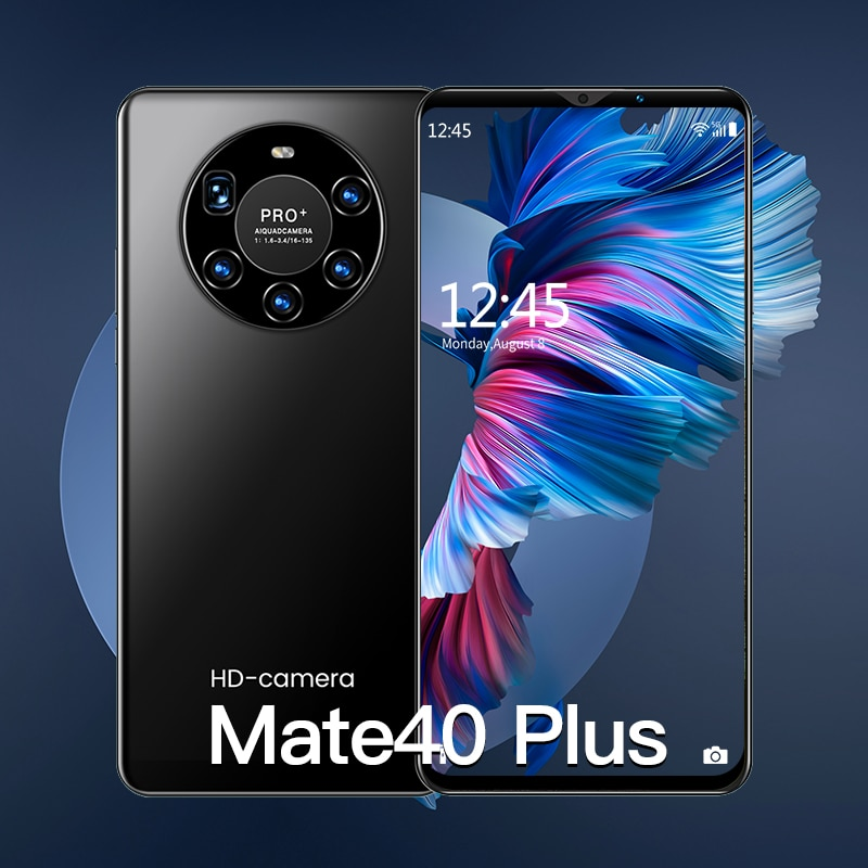 2021 Global Version Smartphone Hawei Mate 40 Plus Celular 6G 128GB Android Smart phone 5000mAh 6.1 I