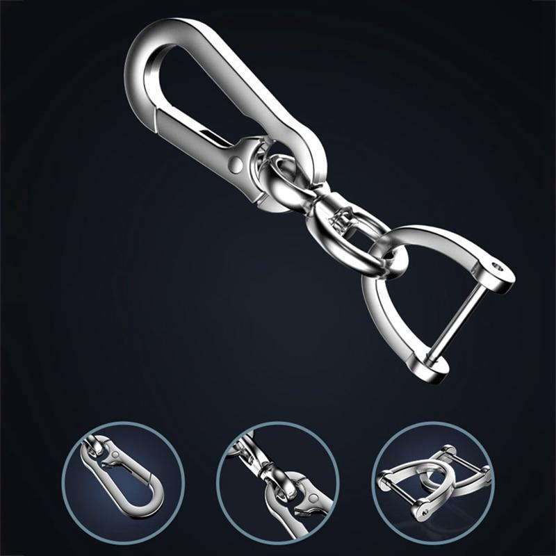 Автомобильный брелок, простой прочный карабин в форме ключа, брелок с крючком для скалолазания, автомобильный брелок