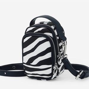 NEW Luxury Zebra Pattern Handbags Female Bag Crossbody Capacity Shoulder Bag Ladies Messenger Bag Casual Tote Bag