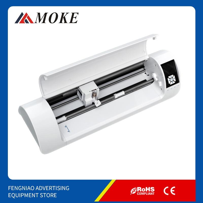 MOKE 330mm Vinyl Mini offic Cutting plotter machine vinyl Automatic Contour Cut vinyl cutter