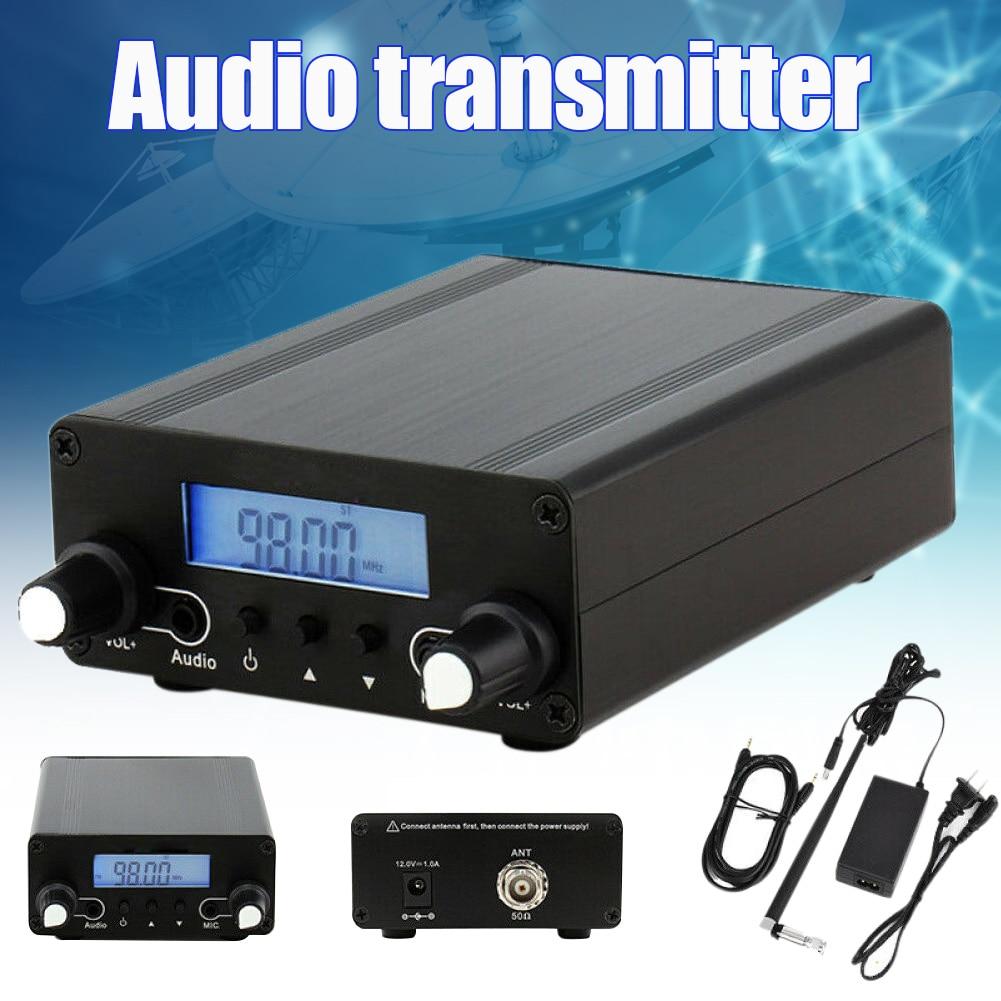 CZE-05B 0.1/0.5 واط اللاسلكية PLL FM الارسال شاشة الكريستال السائل 76 ميجا هرتز ~ 108 ميجا هرتز هوائي البث المنزلي DQ-Drop