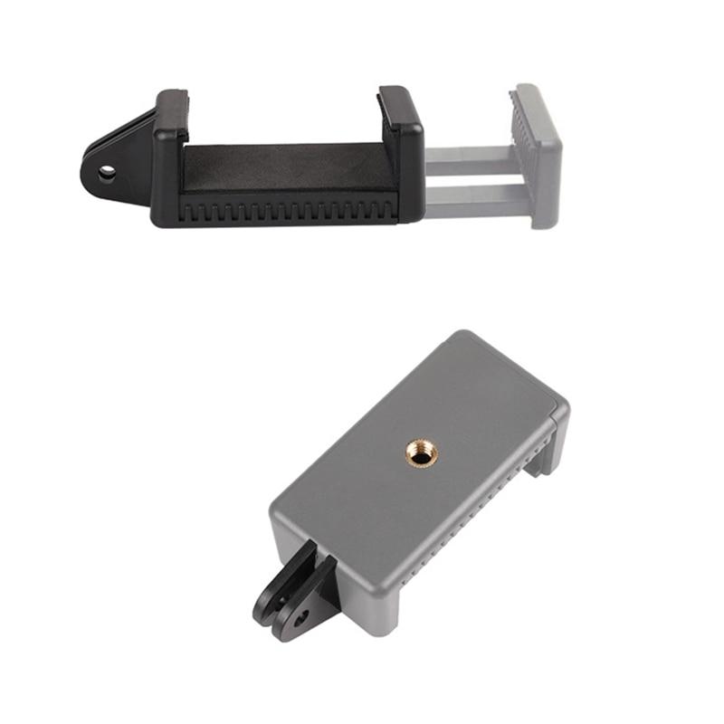 Universal Mobile Phone Clip Tripod Monopod Holder Clamp Bracket Mount Adapter