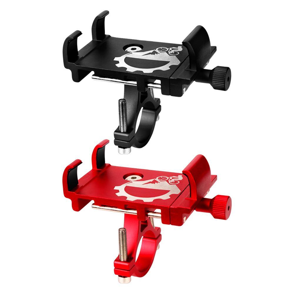 Suporte do telefone da bicicleta de alumínio para 3-6.8 polegada smartphone suporte ajustável gps suporte do telefone da bicicleta suporte de montagem da bicicleta accessorie