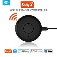 Tuya     Mini telecommande IR universelle  wi-fi 2 4GHz  pour maison connectee  compatible avec Alexa et Google Home  pour climatiseur et TV