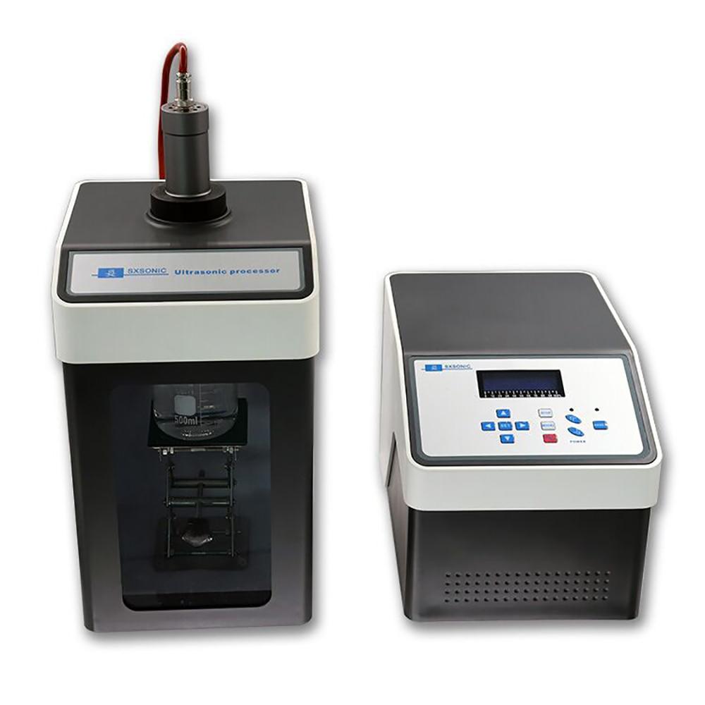 Homogeneizador ultrasónico Sonicator procesador celular Disruptor mezclador FS-250N