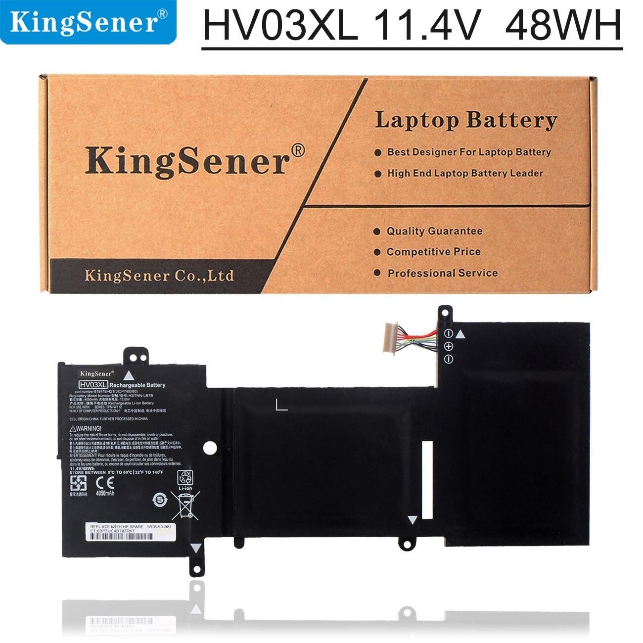 KingSener HV03XL محمول بطارية لجهاز HP X360 310 G2 HSTNN-LB7B TPN-W112 818418-421 817184-005 11.4V 48WH