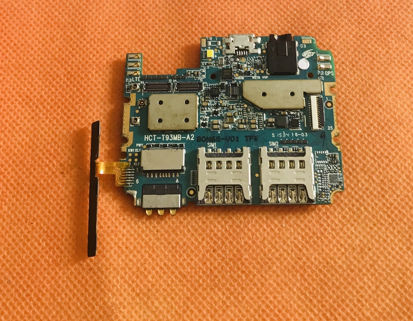 "Placa base Original de 2G RAM + 16G ROM de la placa base para Doogee X5 Pro Android 5,1 MTK6735 Quad Core 5,0 ""HD 1280*720 envío gratuito"