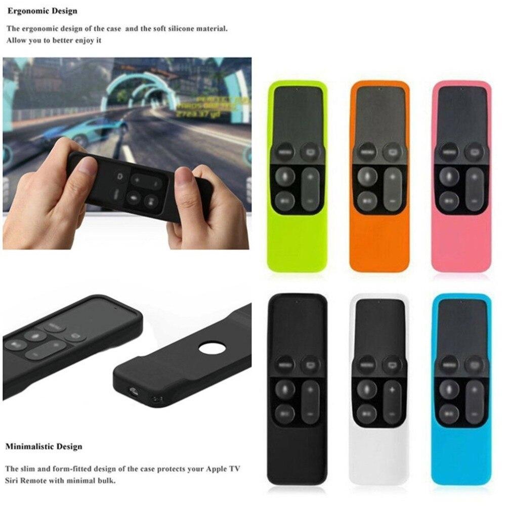 Support de peau résistant aux chocs léger de couverture de Silicone de protection de boîtier à distance pour le contrôleur dapple TV 4K
