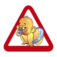 b 0039 printed self adhesive decal baby on board car sticker waterproof auto decors on bumper rear window