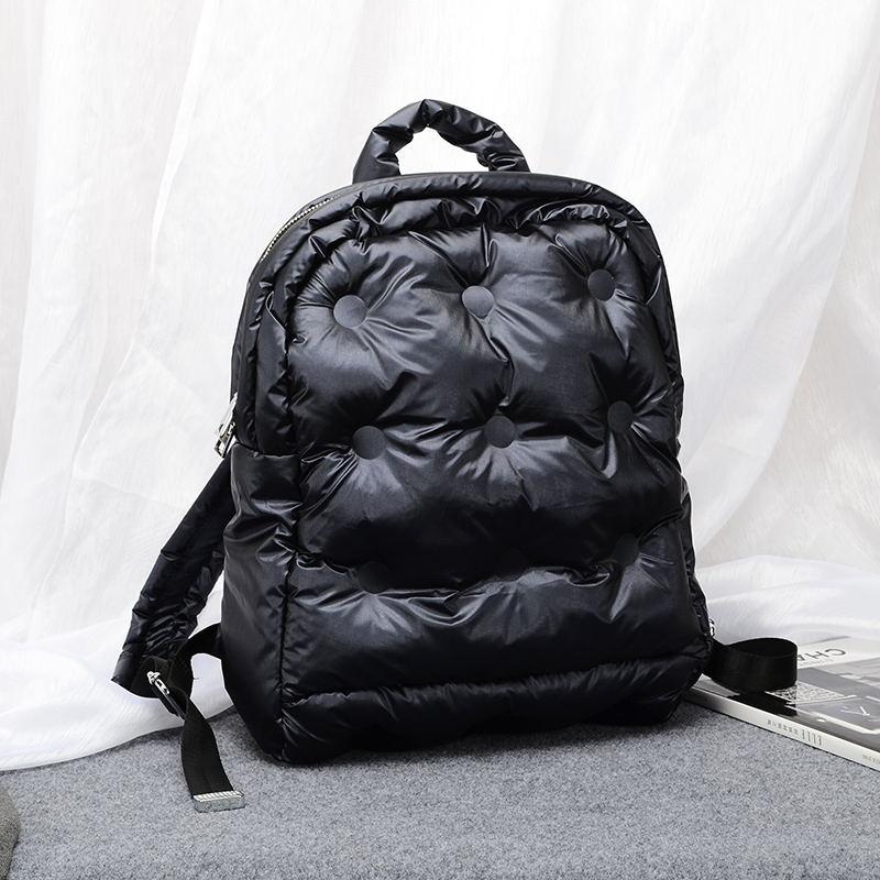 2020 New Women Winter Space Cotton Computer Backpack Notebook Unisex Large Capacity School Bag Waterproof Business Bagpack