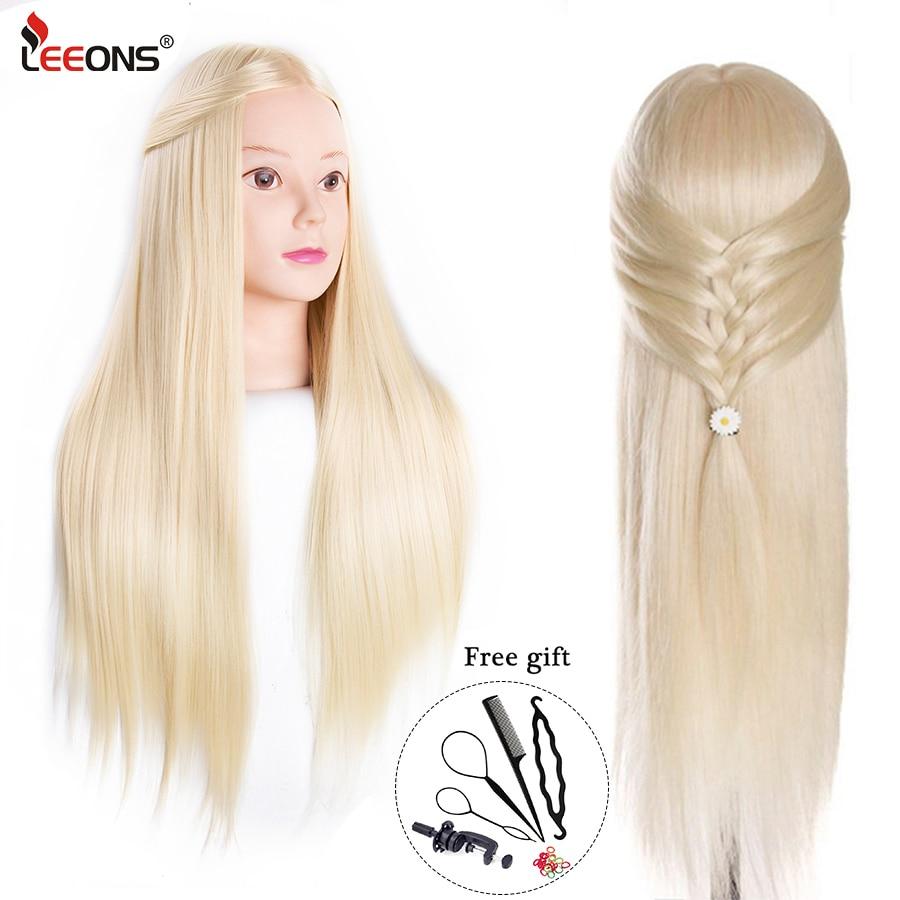Leeons New Training Head Professional Training Mannequin Head Wig Head Holder Training Head Mannequin Head Hair Styling Manikin training