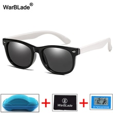 WBL New Fashion Kids Sunglasses Boys Girls Children Polarized Sun Glasses TR90 Silicone Safety Glass