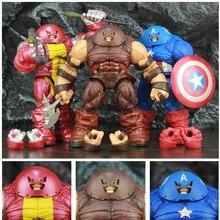 X hommes colosse Captain America Juggernaut 10