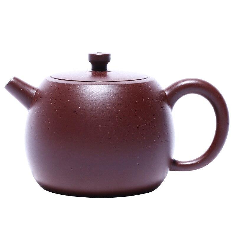 الأرجواني فيرمليون إناء فخار Zisha إبريق الشاي ييشينغ اليدوية وعاء الكونغ فو tewer الأرجواني الطين درينكوير ل بوير الأخضر الأسود الصينية