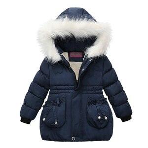 2020 зимняя теплая куртка для мальчиков, рождественское пальто для девочек, куртка для маленьких девочек, кашемировая верхняя одежда с капюшо...