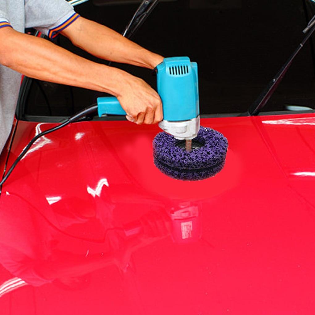Ruota per smerigliatrice per verniciatura e rimozione della ruggine, - Utensili abrasivi - Fotografia 6