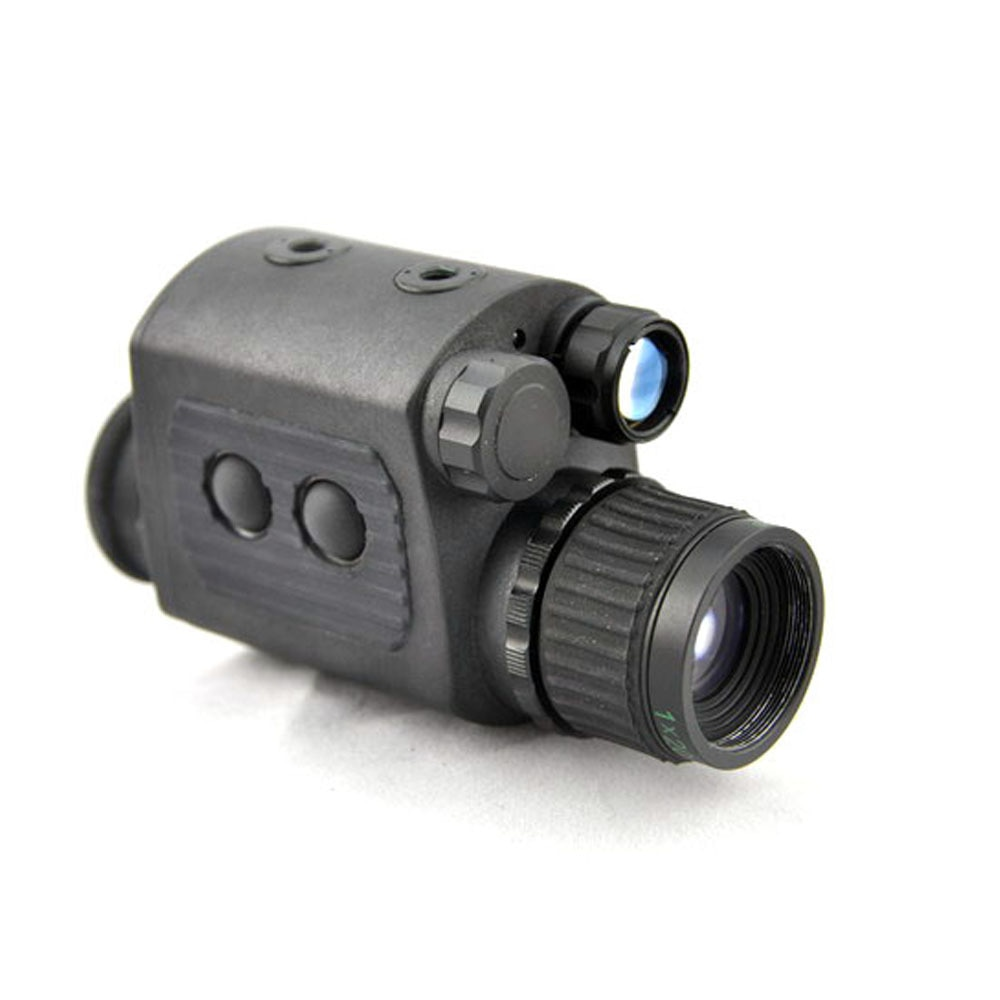 Visor Láser Monocular 1X20 JD, telescopio de observación LED, visión nocturna Digital HD