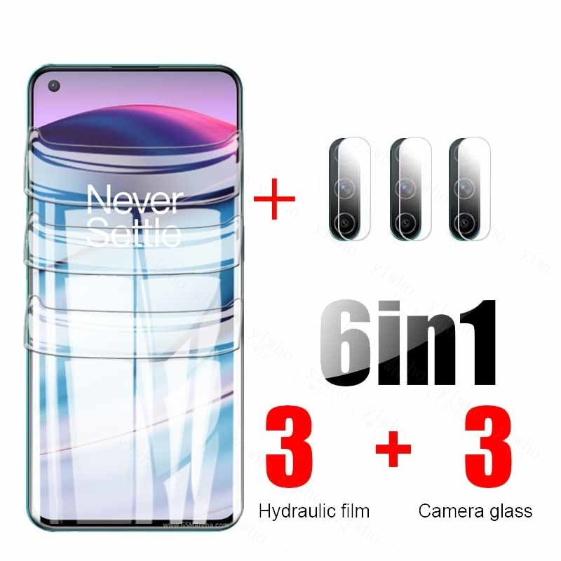 hydrogel film for oneplus onrd ce 5g camera tempered glass one plus 9 pro 9r 9pro 8 8t nord n10 5g n100 n200 screen protector