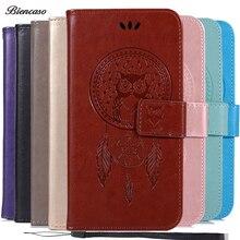 Owl Wallet Flip Case For Samsung Galaxy A71 Case Note 5 J3 Star J5 Prime J7 Refine J4 J6 Plus J2 Core J8 G530 G532 Leather Cover