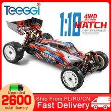 WLtoys 104001 RC Car 1:10 45 Km/h 4WD Drive Off-Road 2.4G High Speed Radio Control Car Formula 1:10