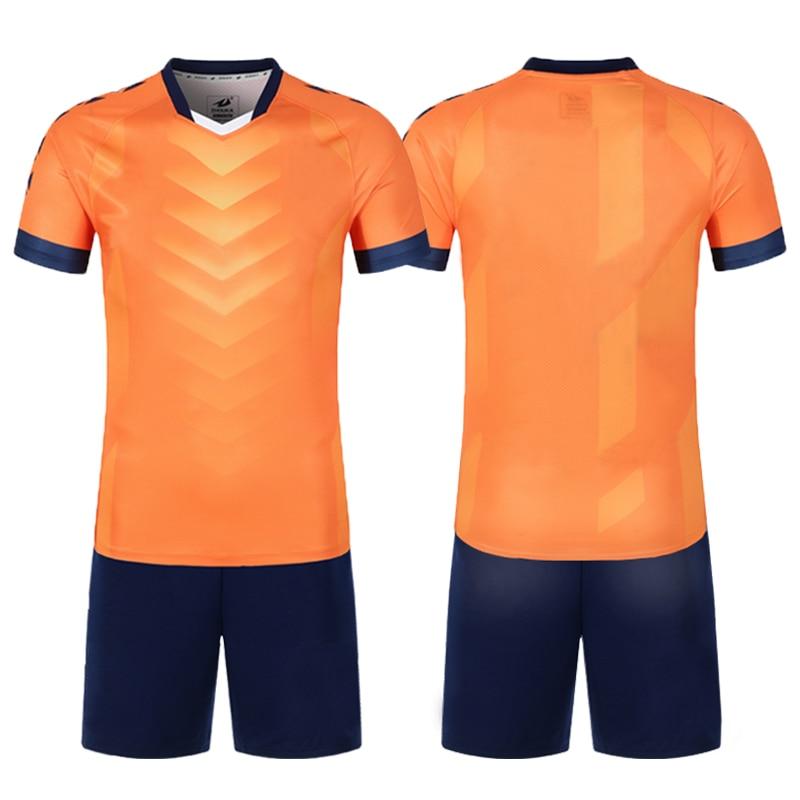 Camisas de futebol 2019 novos conjuntos de uniforme de futebol para meninos da equipe do clube treinamento survetement camisa de futebol