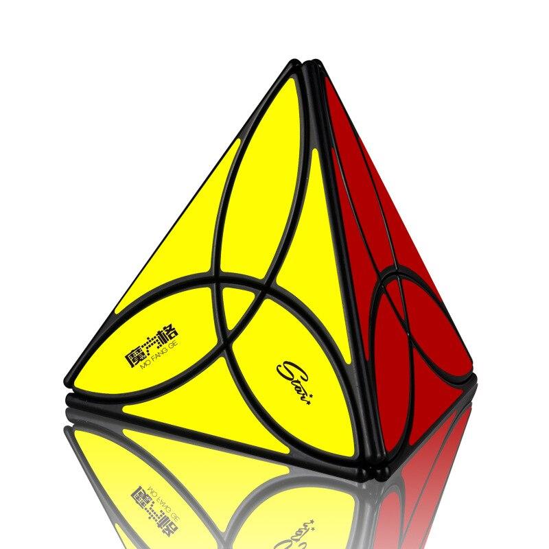 Cubo mágico QiYi Clover piramidal, juego con juguetes educativos, velocidad de competición profesional, cubos de Ideas de regalo Unisex