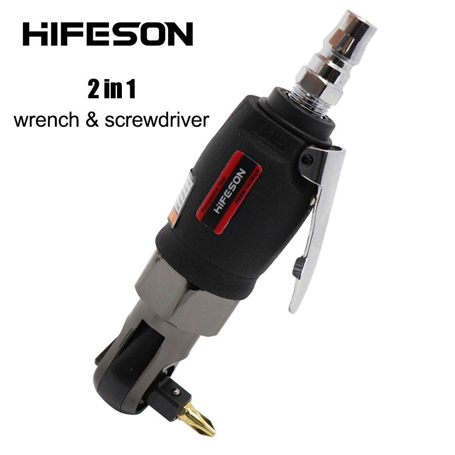 HIFESON-مفتاح سقاطة صغير 2 في 1 ، أداة إصلاح عزم الدوران للسيارة والدراجات ، مفتاح 3/8 بوصة ، 1/4 بوصة