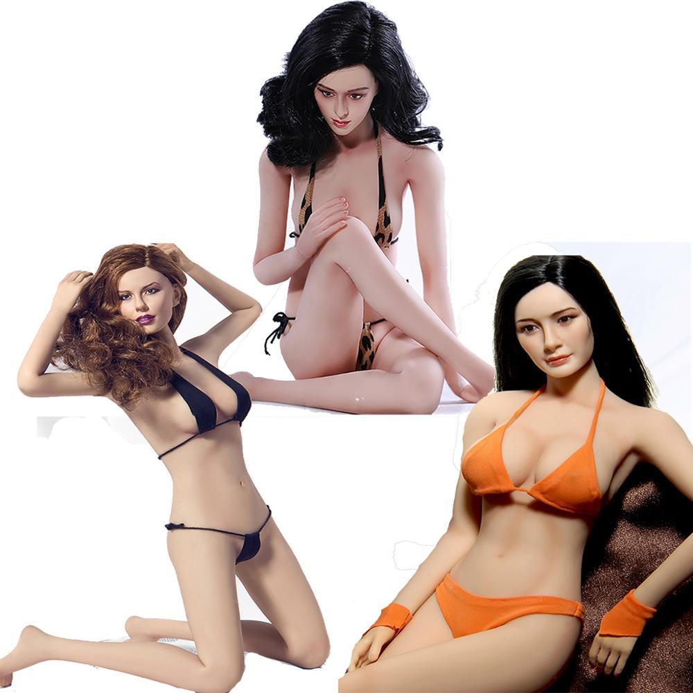 TBLeague Phicen PLMB2014-S01-S02-S07 1/6 весы Девушки Женщины бледно/Suntan Средний бюст бесшовные гибкие тела куклы 12