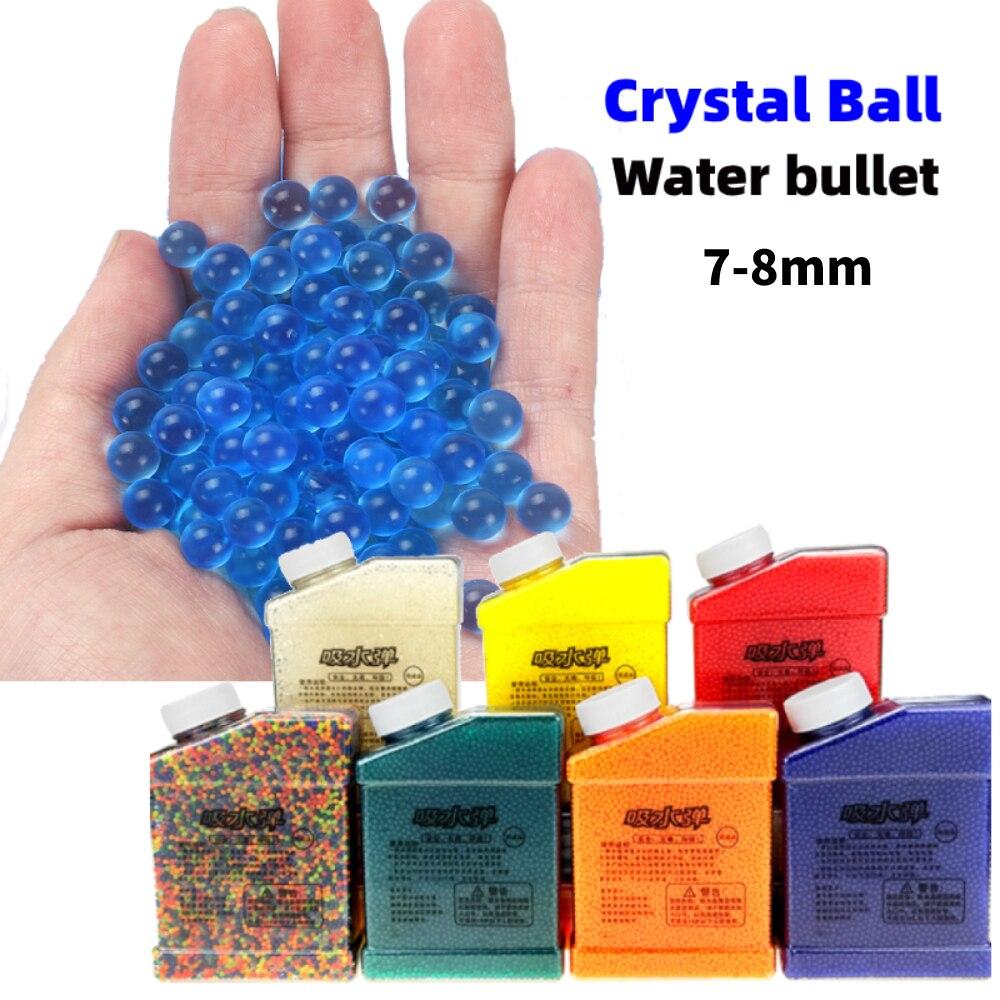 Balas de Agua de Cristal para niños, 7-8mm, 10000 balas de aire...