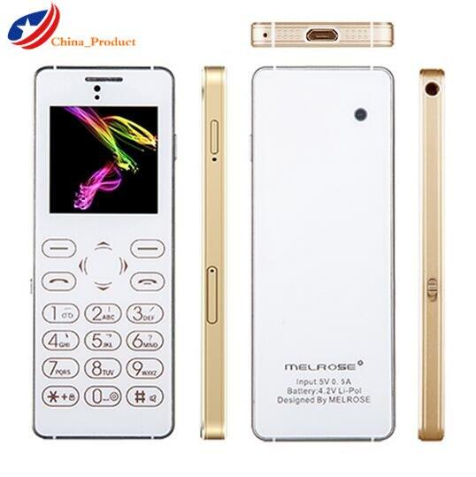 Original Melrose T1 1.54'' 16G Full Bluetooth FM Anti-lost Audio Player Sound Recorder Mini Mobile Phone with Camera PK X6 M5