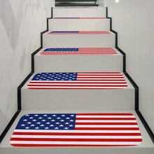 70x22cm Floormat Anti-Slip Doormat America British Flag Carpets Bedroom Rugs Stair Mats Home Decor 1/5Pcs