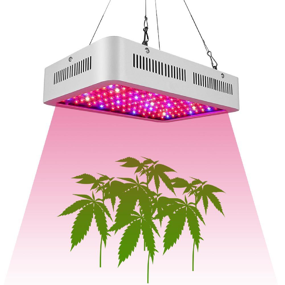 TWISTER.CK 2 uds 1200W LED doble Chip espectro completo planta crece lámpara AC85-265V