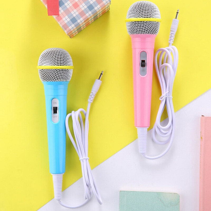 Kids Wired Microphone Musical Instrument Singing MIC Children Funny Gift Music Toy Microphone Toy Boy Girl Christmas Gift enlarge