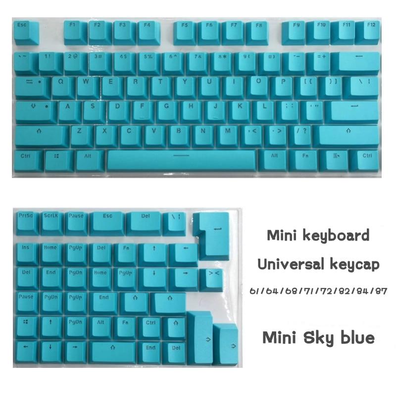 Keycaps para Mini Teclado com Letras Terno para 61 Eagiacme Teclado Mecânico 64 68 71 82 84 Layout Rgb Transparentes Pbt –