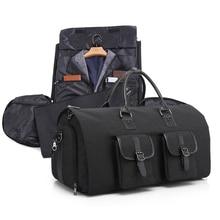 Imperméable à leau pliable Mochila sac de sport hommes sac de Fitness voyage costume de rangement fourre-tout vêtements Chaussure Sportbag avec compartiment à chaussures