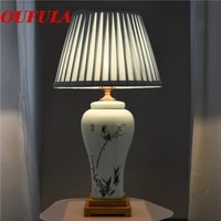86light ceramic table lamps desk lights luxury modern contemporary fabric for foyer living room office creative bed room hotel