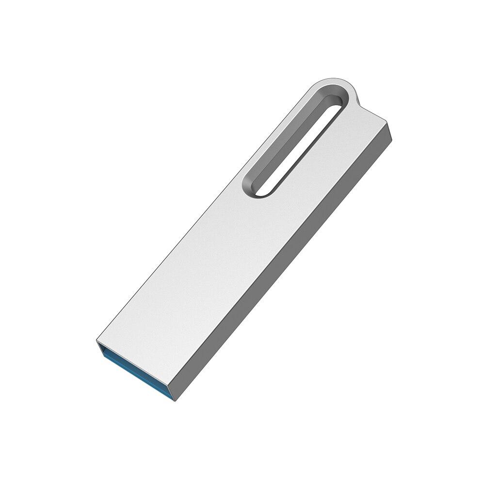 TOPESEL 5Pack USB Flash Drive USB 2.0 Waterproof Metal Pen Drive Mini Slim Thumb Drive Easy Carry Keychain USB Memory Stick