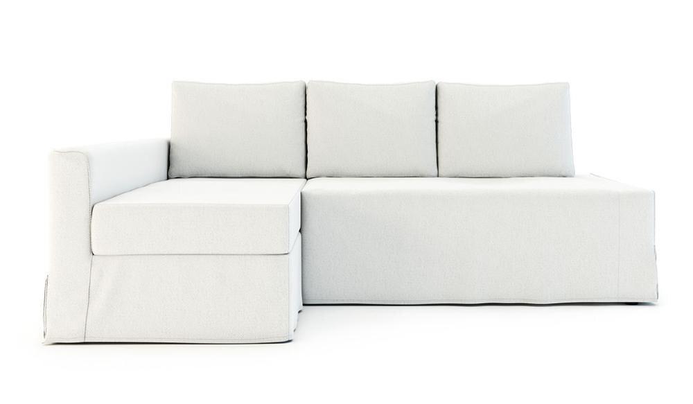 Funda de sofá-cama de esquina Friheten, Diván izquierdo, ajuste suelto
