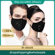 Capa protetora de proteção respirador de poeira anti-poluição lavável reutilizável 98% isolar gripe bacteriana boca-muffle respirador