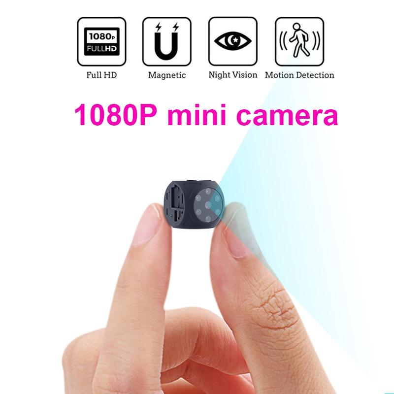 كاميرا صغيرة كاملة HD فيديو 1080P DV DVR كاميرا صغيرة كشف الحركة مع الأشعة تحت الحمراء للرؤية الليلية كاميرا فيديو دعم بطاقة TF مخفية