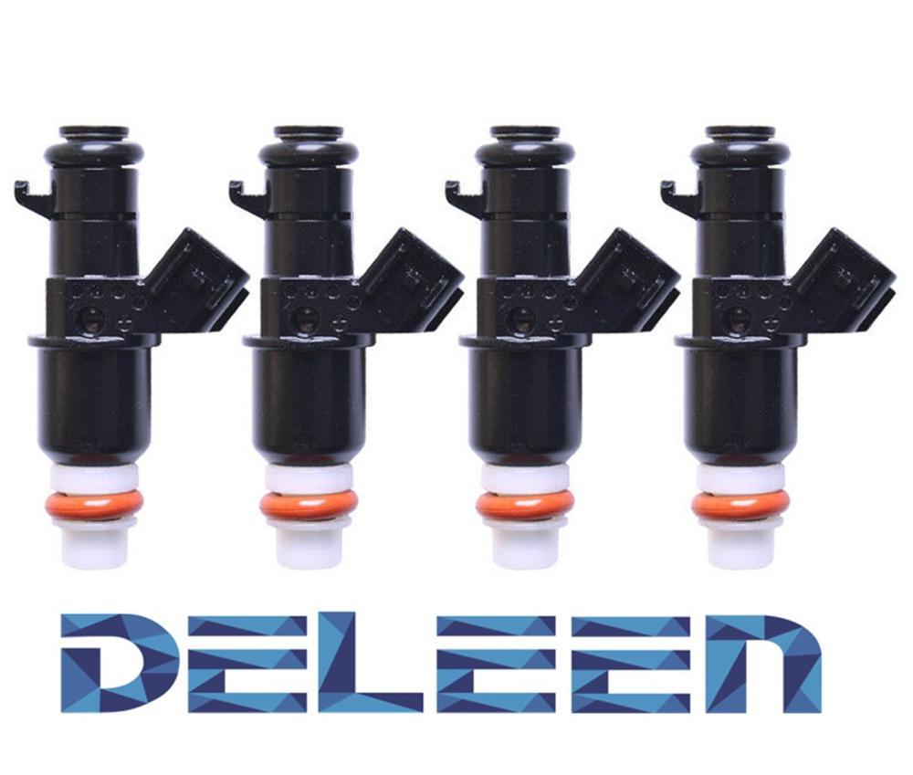 Deleen 4 x inyector de combustible para H onda 16450-PWA-003 16450-RGA-003 accesorios de inyector de combustible para coche