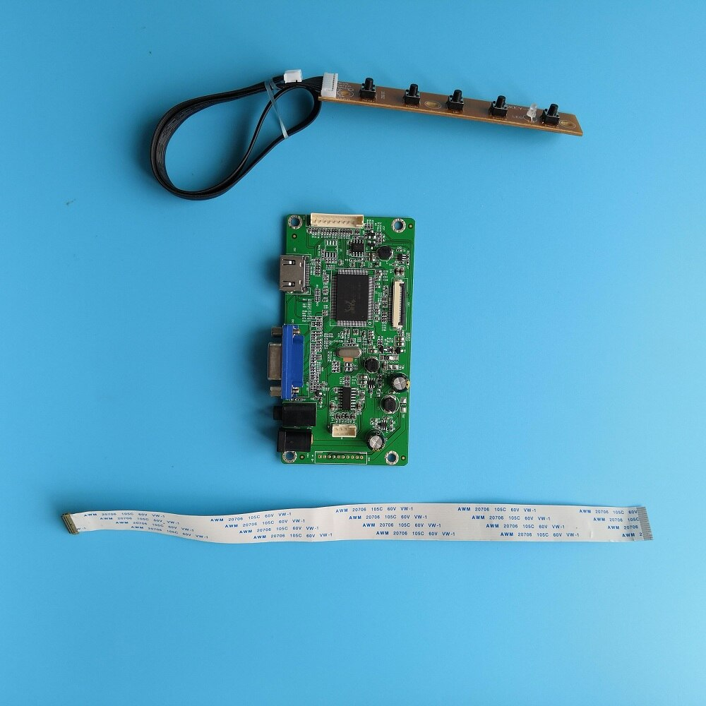 "Para LP156WF4 (SP) (L1)/(SP) (B1) EDP mini LCD LED kit de monitor de pantalla controlador de panel del conductor 1920*1080 cable HDMI 15,6"""