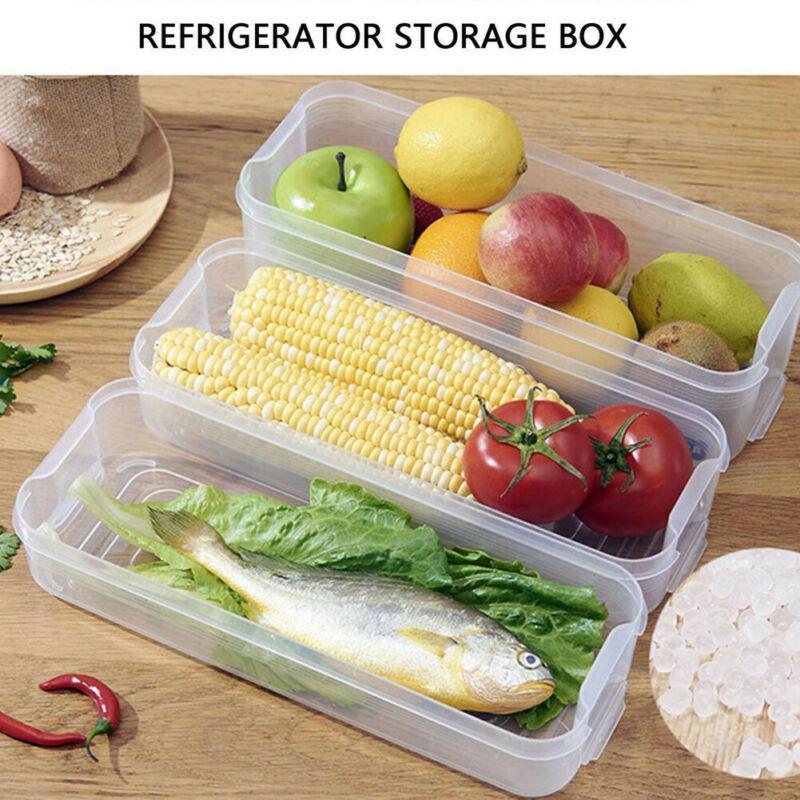 UK caja de almacenamiento de bebidas puede huevo nevera alimentos vegetales fruta claro organizador titular
