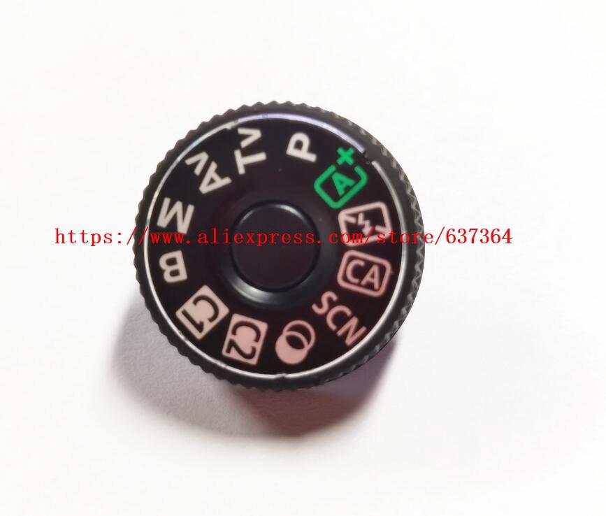 Piezas de repuesto para Canon para EOS 80D cubierta superior modo dial con tapa de interfaz