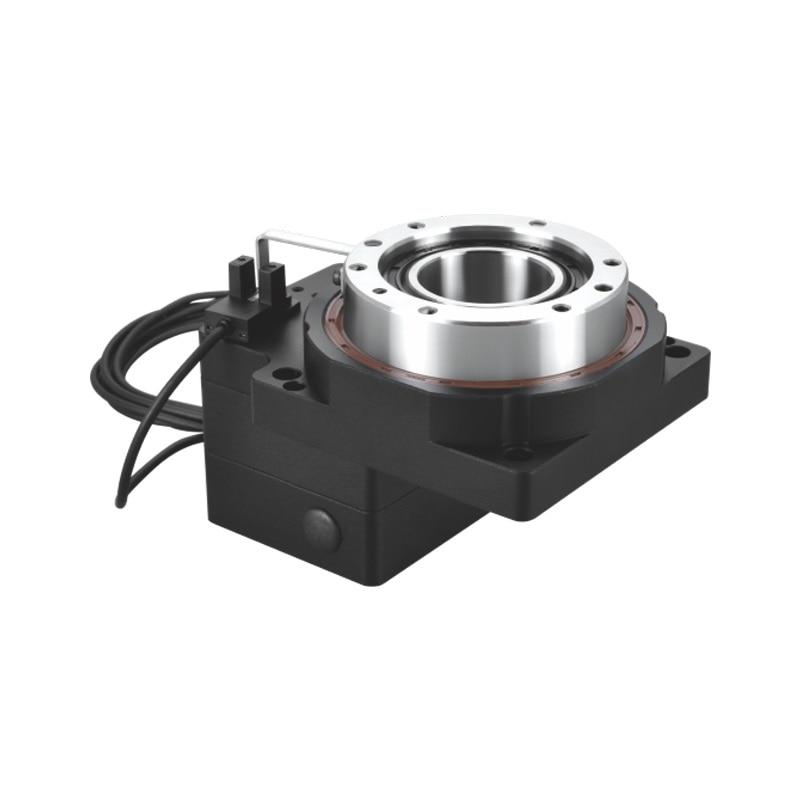 ZCT85-10 جوفاء الدورية منصة الكهربائية الدوار علبة التروس المخفض نسبة 10:1 ل 60 الإطار 400 واط محرك سيرفو يعمل بالتيار المتردد المدخلات 14 مللي متر