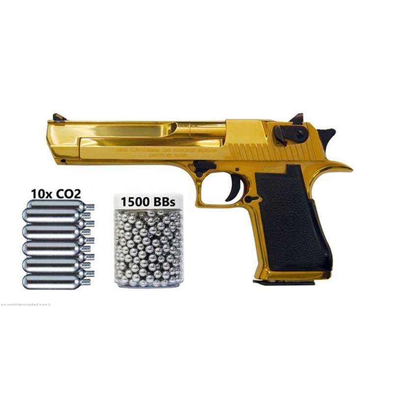 Воздушный пистолет Umarex берлетта, Золотая пустыня, Орел, полностью автоматический, 177 Co2 Bb, 310 кадров в секунду, настенный жестяной знак