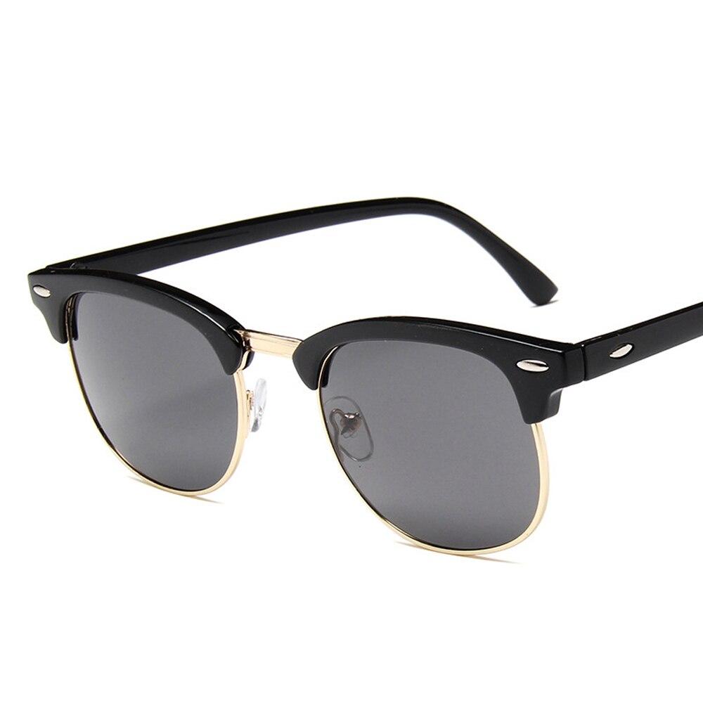 Polarized Sunglasses Men Women  Brand Design Eye Sun Glasses Women Semi Rimless Classic Men Sunglass